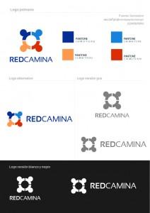 Versiones del Logo REDCAMINA